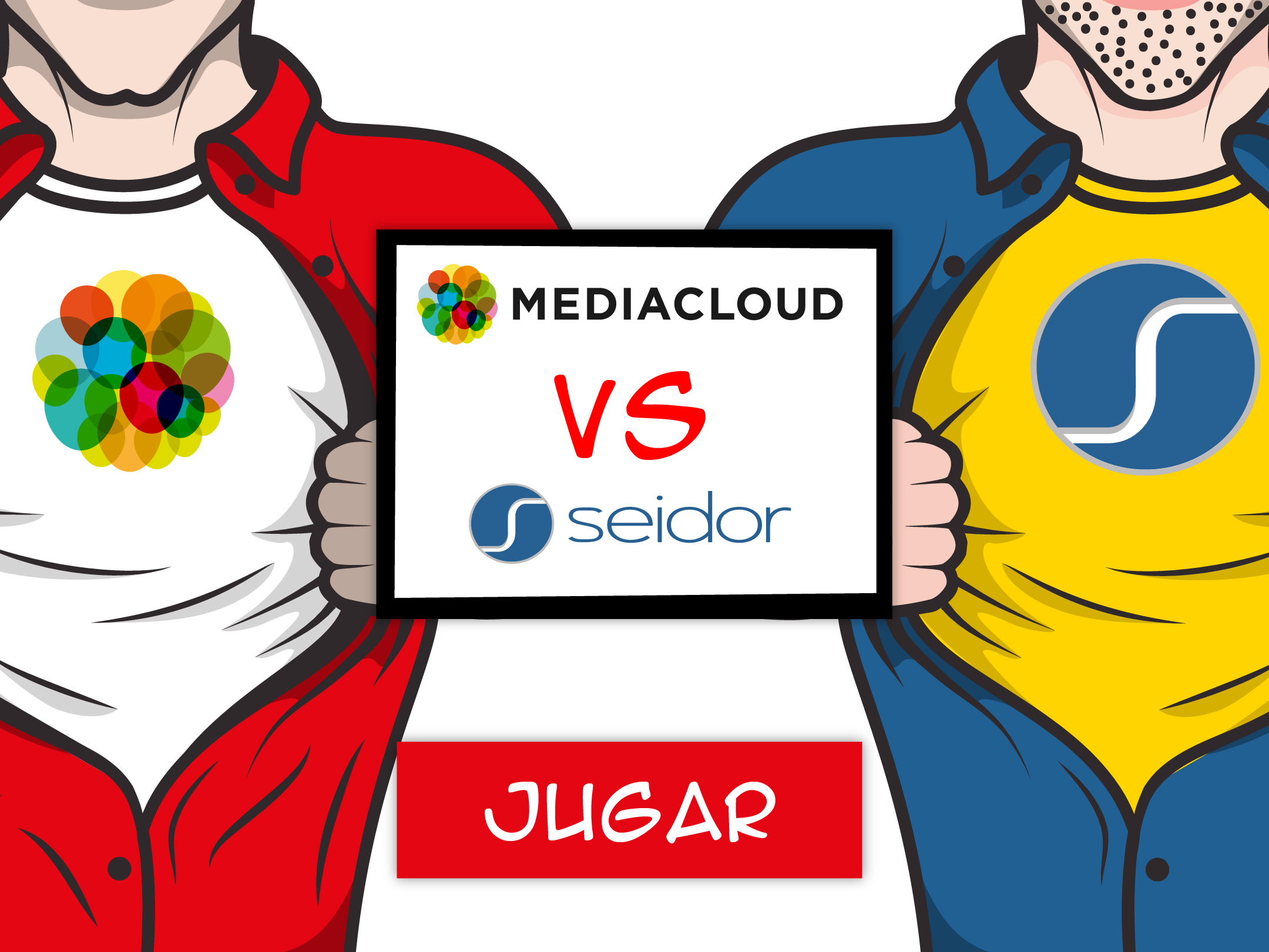 Mediacloud vs Seidor